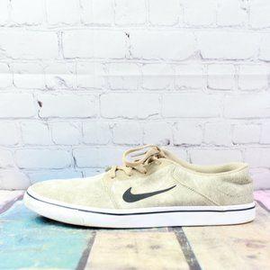 NIKE SB Portmore Brown Nylon Skateboard Shoes 12
